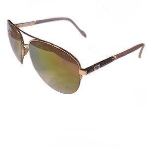 Jessica Simpson Rose Gold Sunglasses